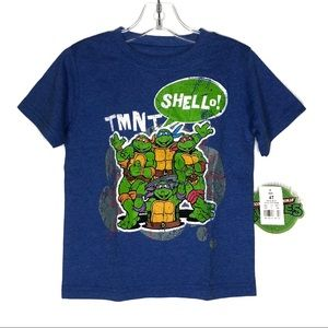 TMNT Classic Graphic Short Sleeves T-Shirt 4T